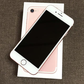 iPhone - 超美品 iPhone 7 Rose Gold 32GB SIMフリー