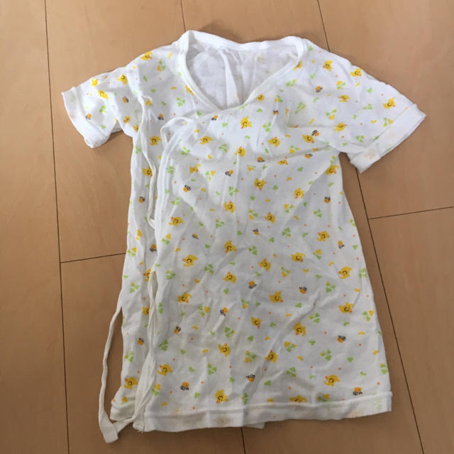 西松屋(ニシマツヤ)のベビー肌着❁長肌着 キッズ/ベビー/マタニティのベビー服(~85cm)(肌着/下着)の商品写真