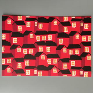マリメッコ(marimekko)のマリメッコ ポストカード ハガキ 1枚(その他)