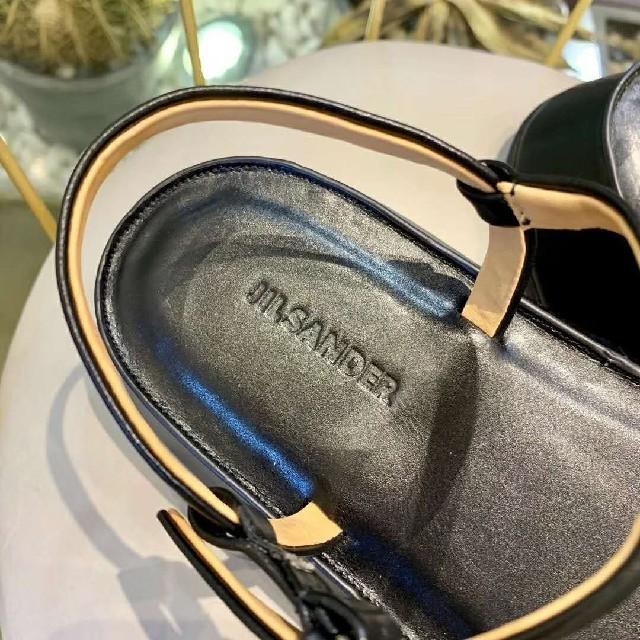 Jil Sander(ジルサンダー)の36 JIL SANDER ジルサンダル  人気 レディースの靴/シューズ(サンダル)の商品写真