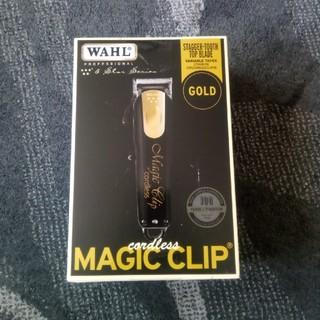 wahl magic clip black  and gold
