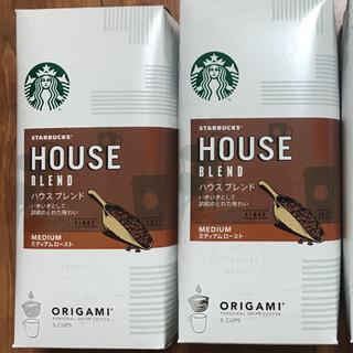 スターバックスコーヒー(Starbucks Coffee)のスターバックスオリガミドリップコーヒーセット(コーヒー)