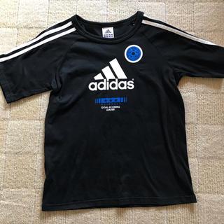 アディダス(adidas)のアディダス 黒 Tシャツ 150(Tシャツ/カットソー)