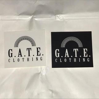 GATE CLOTHING ステッカーシール 非売品