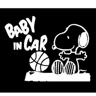 babyincar kidsincar カッティングステッカー マグネット