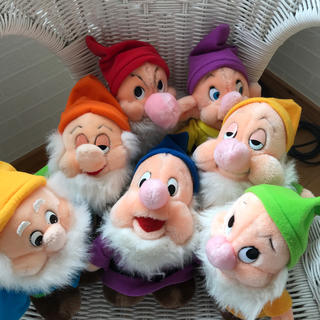 ディズニー(Disney)のディズニー 7人の小人(ぬいぐるみ)