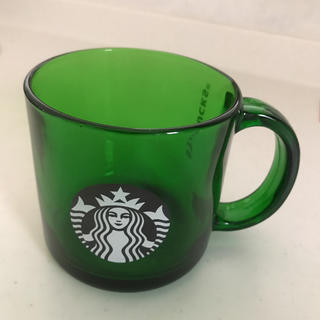 Starbucks Coffee - スターバックス ロゴ ガラス マグカップ
