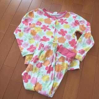 ブリーズ(BREEZE)の【120】Breeze ブリーズ ガールズ パジャマ 長袖 花柄×綿100% (パジャマ)