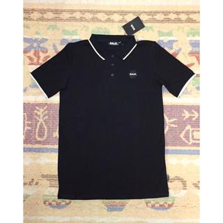アディダス(adidas)のBALR.◆ボーラー ポロシャツ 黒M◆ダニアウヴェス ネイマール(ポロシャツ)