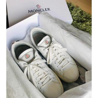 モンクレール(MONCLER)のMONCLER モンクレール スニーカー LA MONACO サイズ40(スニーカー)