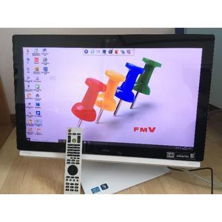 フジツウ(富士通)のFH77/HD i7 8GB 2TB 3波TV Office クイックTV(デスクトップ型PC)