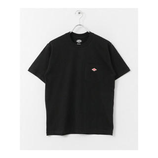 DANTON - 新品未使用 DANTON ダントン ポケットTシャツ 38 ブラック
