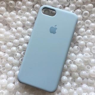 Apple - 箱なし スカイブルー iPhone8 純正 アップル Apple シリコン 人気