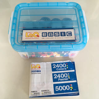 LaQ2400Colors(知育玩具)