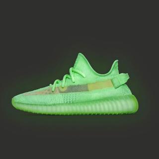 アディダス(adidas)の28cm yeezy boost 350 v2 glow(スニーカー)