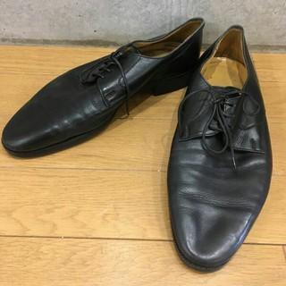 シューズ ビジネス/カジュアル ローヒール 黒(ドレス/ビジネス)