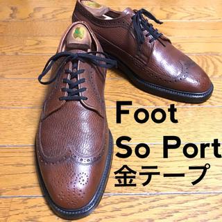 オールデン(Alden)のFoot so port ウイングチップ 革靴 ビンテージ(ドレス/ビジネス)