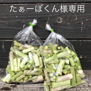 アスパラLサイズと茎