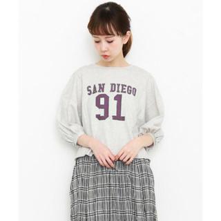 ケービーエフ(KBF)のナンバリングリメイクTシャツ(Tシャツ(長袖/七分))