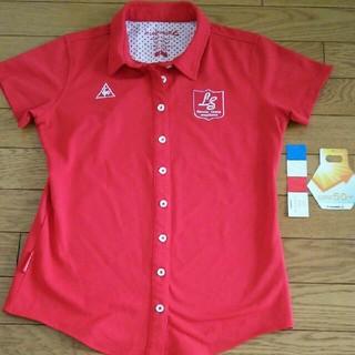 le coq sportif - 美品 タグ有りルコックMサイズゴルフポロシャツです