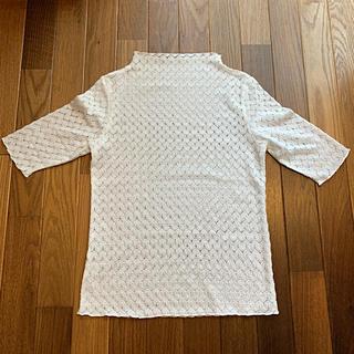 ジーユー(GU)のレース トップス(カットソー(半袖/袖なし))