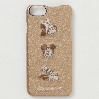 Disney - アコモデ ディズニー スパークデコ iPhoneケース