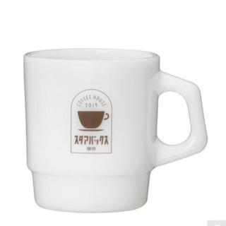 Starbucks Coffee - スターバックス グラスマグ ファイヤーキング製マグカップ