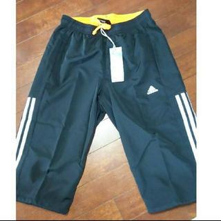 アディダス(adidas)のadidas ハーフパンツ  黒色  Sサイズ(ウェア)