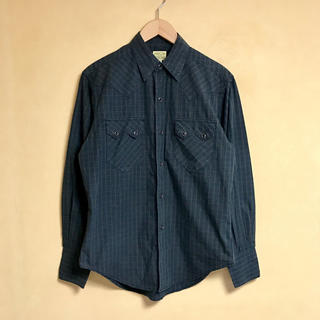 シュガーケーン(Sugar Cane)のSUGAR CANE / シュガーケーン ウエスタンチェックシャツ M(シャツ)