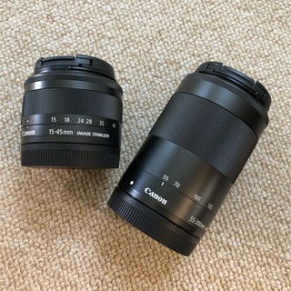 Canon - CANON EF-M ダブルズームレンズ