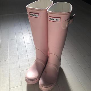 ハンター(HUNTER)のHunter レインブーツ ベビーピンク(レインブーツ/長靴)