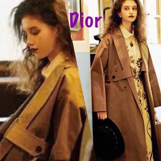 クリスチャンディオール(Christian Dior)の正規品♡美品♡2018ResortDior ディオール トレンチ コート34(トレンチコート)