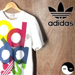 アディダス(adidas)のadidas originals アディダス ロゴ プリント Tシャツ tee(Tシャツ/カットソー(半袖/袖なし))