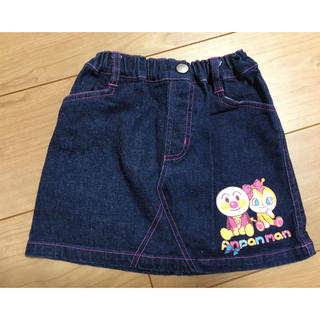 アンパンマン(アンパンマン)のアンパンマン デニム スカート 95 ★(スカート)