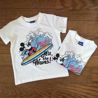 Disney - ミッキー【Tシャツ】新品未使用