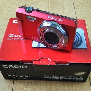 CASIO - デジカメ カシオ CASIO EX-ZS160