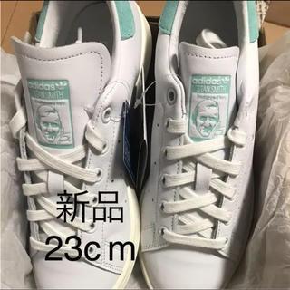 adidas - 新品 23cm adidas アディダス スタンスミス金ロゴ