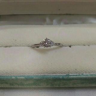 ミツコシ(三越)の販売終了致しました❗ Pt950 プラチナ ダイヤ リング 039 010(リング(指輪))