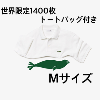 LACOSTE - ラコステ 『Save Our Species』 ハワイアンモンクアザラシポロ M