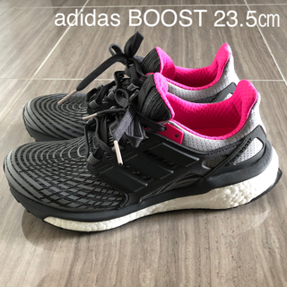 アディダス(adidas)のadidas energy BOOST レディース ランニングシューズ23.5㎝(シューズ)