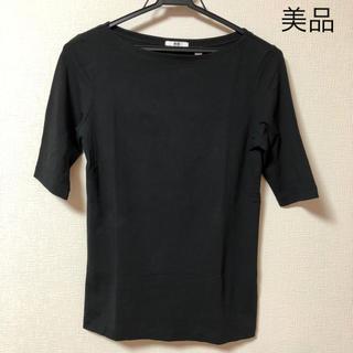 ユニクロ(UNIQLO)のユニクロ Tシャツ 5分袖 美品(その他)