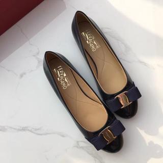 サルヴァトーレフェラガモ(Salvatore Ferragamo)のサルヴァトーレフェラガモ 靴/シューズ ハイヒール サイズ37(ハイヒール/パンプス)