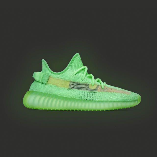adidas(アディダス)のyeezy boost 350 V2 glow グロウ グロー メンズの靴/シューズ(スニーカー)の商品写真