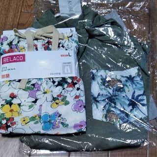 ユニクロ(UNIQLO)の新品未使用ユニクロリラコ、神戸レタス、Tシャツ(ルームウェア)