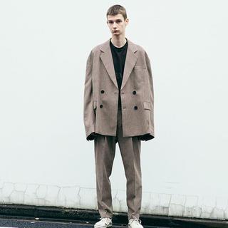 SUNSEA - stein oversized double jacket M