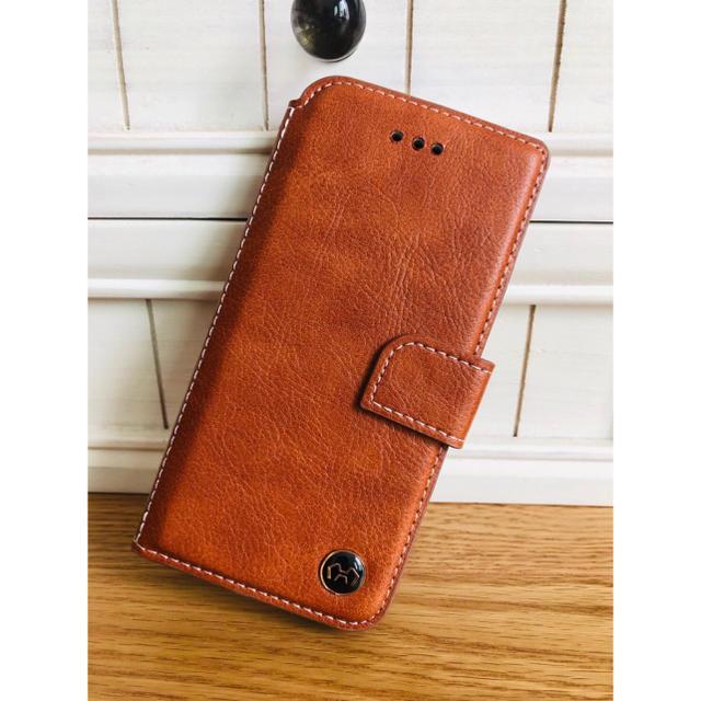 iphone7 ケース ステューシー 、 本牛革ケース☆iPhone7.8.x.xs.XR.xs max手帳ケース( ◠‿の通販 by モンキースター's shop|ラクマ