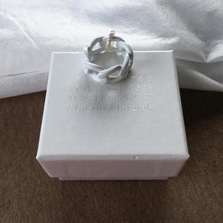 マルタンマルジェラ(Maison Martin Margiela)の18SS新品M マルジェラ ペイント チェーンリング(リング(指輪))