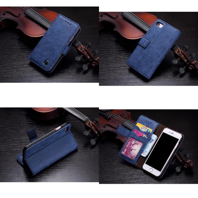 本革《牛皮》ユーズド加工☆iPhone7.8/X.XS/XR手帳ケース( ^ω^の通販 by モンキースター's shop|ラクマ