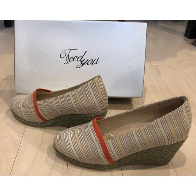 Feed you(フィージュ)のFeedyou ウェッジソール靴 レディースの靴/シューズ(ハイヒール/パンプス)の商品写真