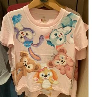 Disney - 香港ディズニー 限定 ダッフィー フレンズ Tシャツ 大人用